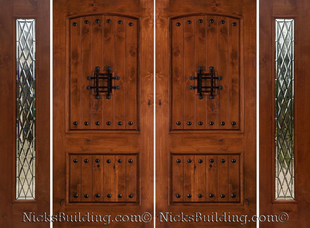 785 #6F3316 Rustic Knotty Alder Exterior Doors Rustic Double Doors wallpaper Rustic Double Doors 9651069