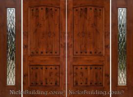 Rustic Exterior Doors | Knotty Alder Doors | Western Style Doors