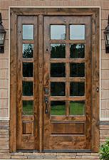 Attractive Rustic Round Top Doors ...