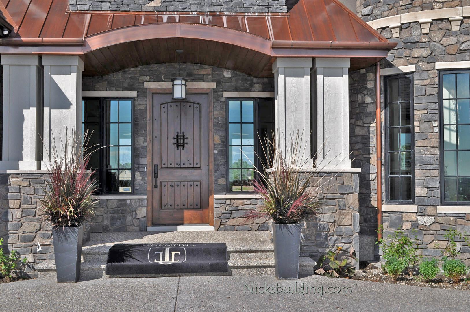 1080 #466F85 Rustic Doors Rustic Exterior Doors Installation Gallery pic Entry Doors Canada 45711626