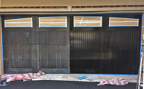 Garage Door refinishing