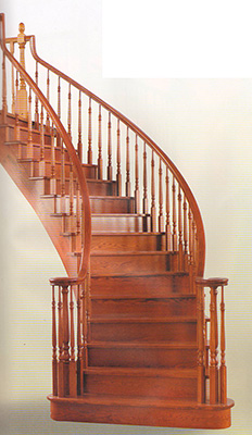 Arched Staircases