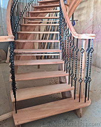 Mahogany Staircase for Sale