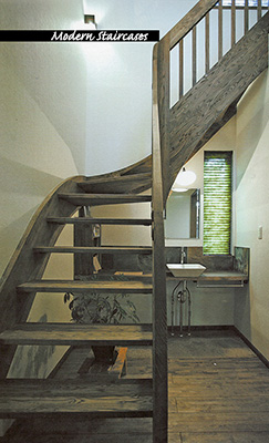 Modern Wood Staircases