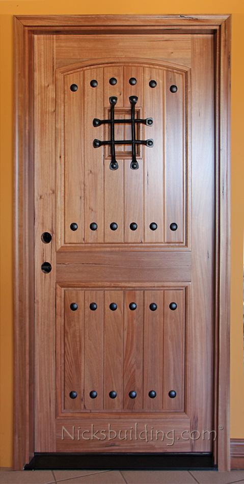 Exterior Teak Door ...