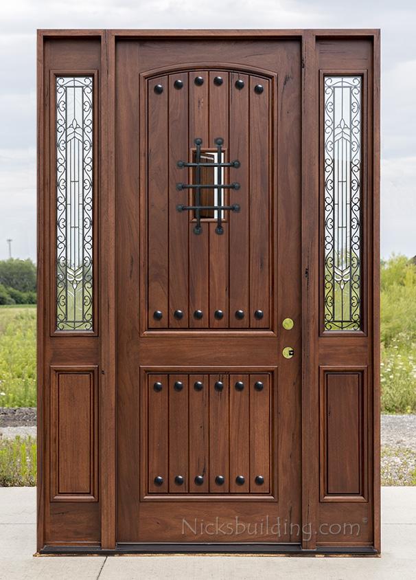 Teak Exterior Doors