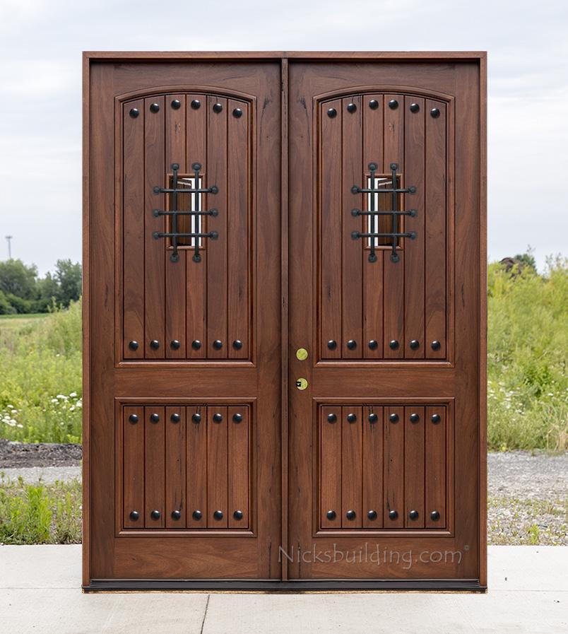 Teak exterior doors for Teak wood doors