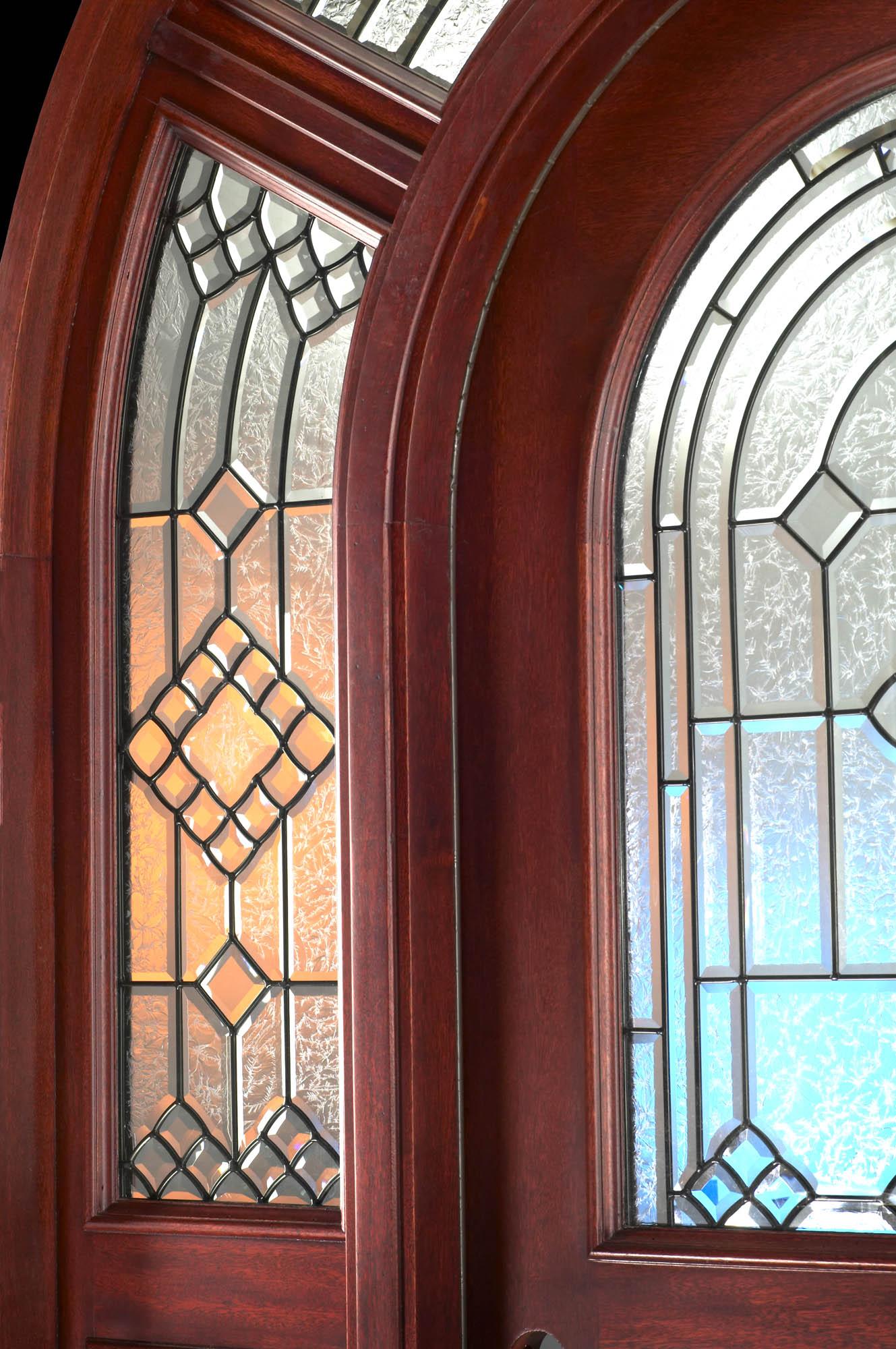 2000 #2096AB Exterior Radius Top Doors & Transom With Radius Glass wallpaper Radius Top Entry Doors 38951329