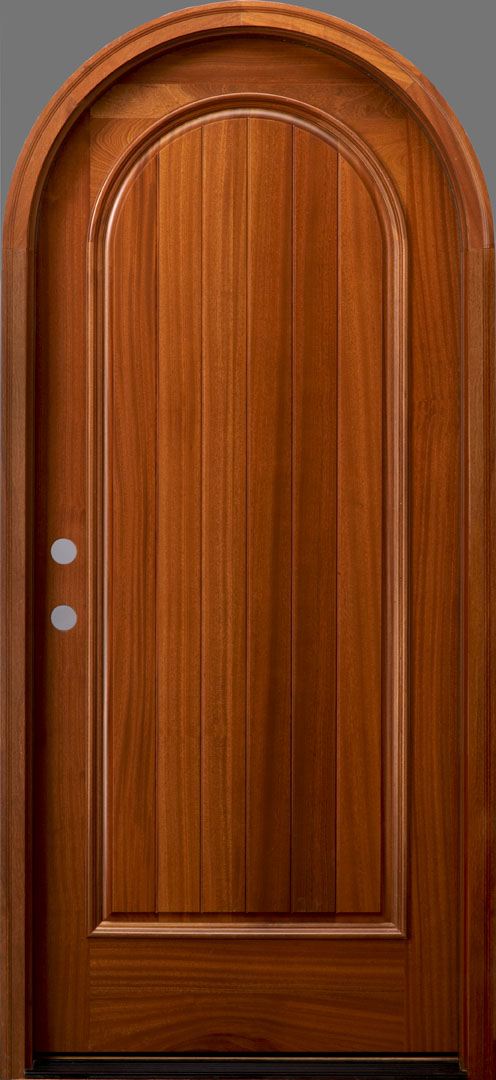 Free Shipping Multi Color Door Window Panels String: RT1P African Mahogany Door
