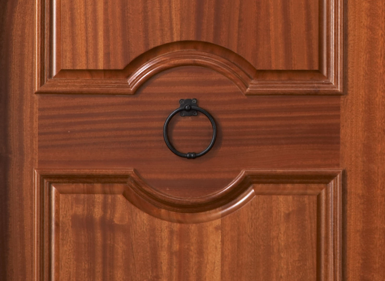 1078 #A44E27 Salzburg African Mahogany True Radius Top Double Door wallpaper Radius Top Entry Doors 38951477