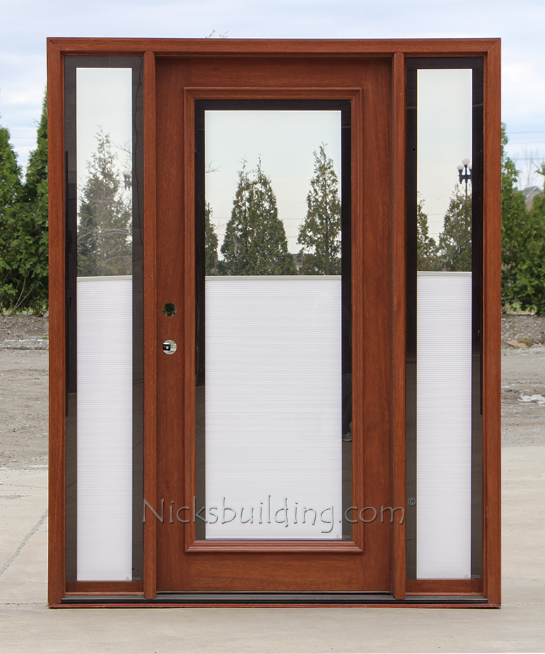 Blinds between glass for Exterior doors with glass
