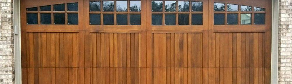 The Advantages of Wooden Garage Doors
