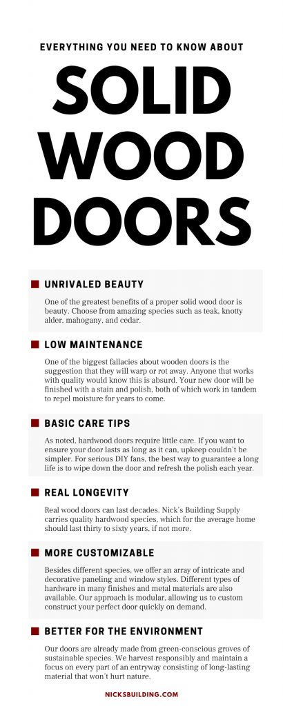 Everything You Need To Know About Solid Wood Doors