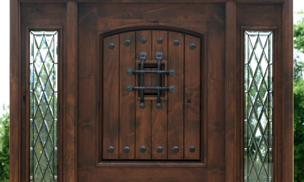 Are Knotty Adler Doors Good for Exterior Use?