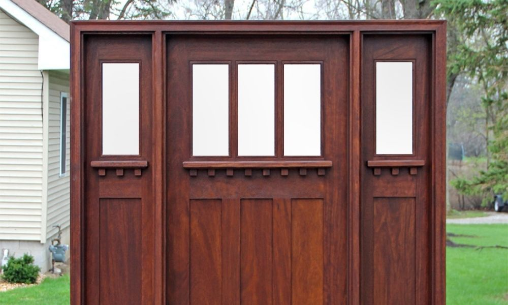 Are Craftsman Homes and Craftsman Doors Related?