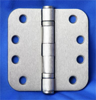 Satin Nickel Exterior Hinges
