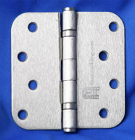 Satin Nickel Interior Hinges