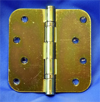 yellow zinc interior door hinges