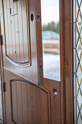 flush bolt on exterior dutch door