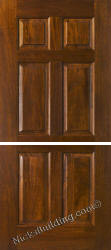 Dutch Doors Mahogany 6 panel