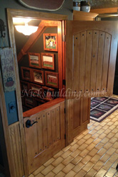 interior dutch doors with shelf