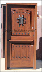 Rustic Exterior Dutch Doors