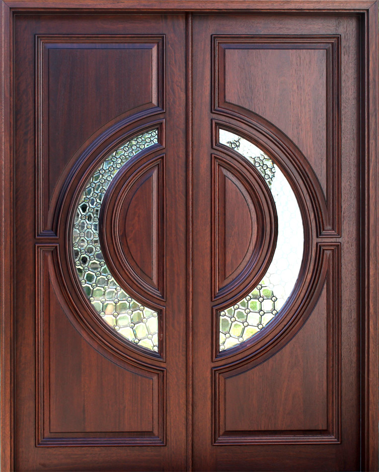 Wood doors front doors entry doors exterior doors for for Houses with double front doors