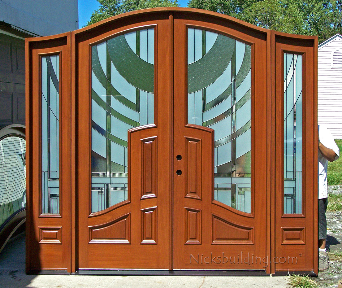 Mansion Doors Application Page