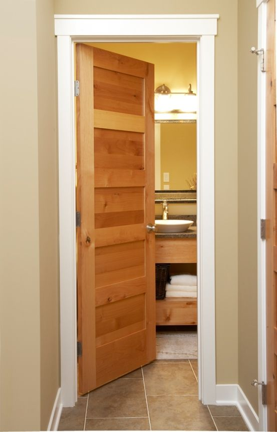 Alder 5 Panel Interior Shaker Style Door ...