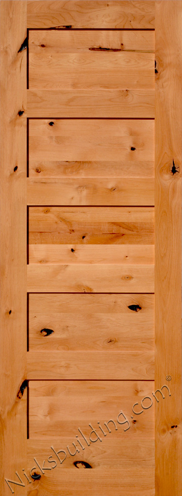 Rustic Interior Doors : Rustic interior shaker doors