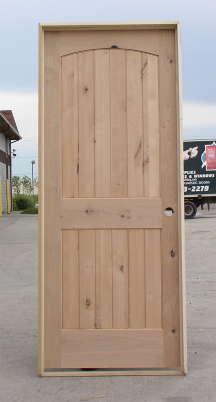 Rustic knotty alder doors at wholesale prices for Interior wood doors for sale