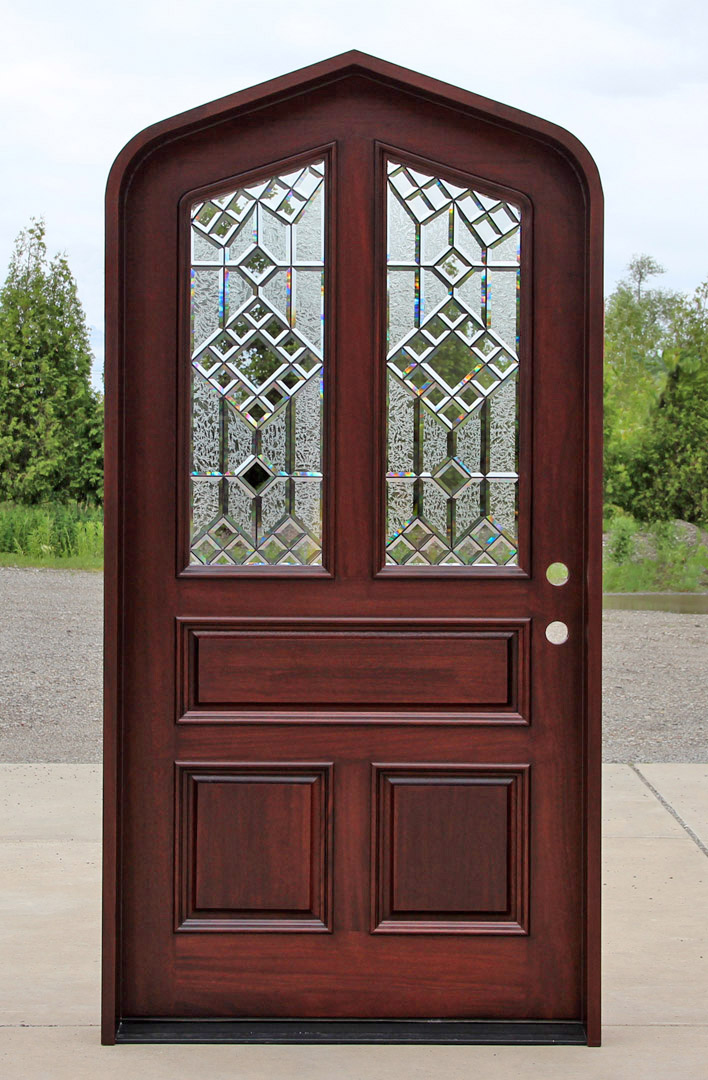 Custom doors where to order custom doors for Wooden front doors fitted