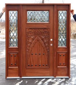 Custom Door Carved Marrakech