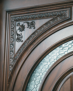 Carved Panel on Tiffany