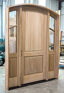 Custom Designed Arched Top Door