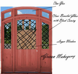 arched top door design