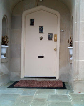Arched Custom Door
