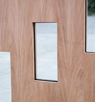 Custom doors wood doors made to order for Flush exterior door