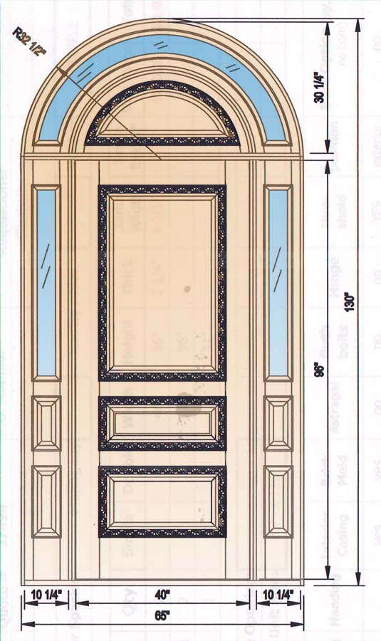 custom doors custom transoms