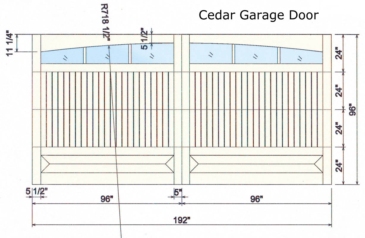 Doors sizes full image for simple decoration double for Size of single car garage door