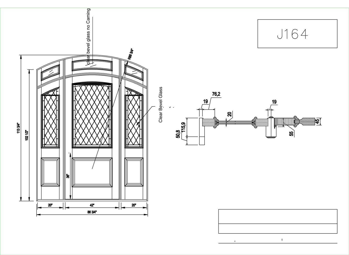 Cad Door Drawing Download Files Sc 1 St Cad Crowd