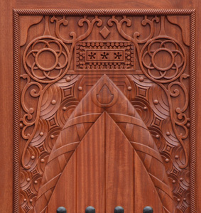 Carved Doors Custom Made