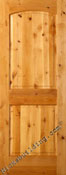 Rustic knotty alder interior doors