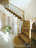 custom wood staircases