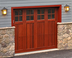 Wood Garage Doors Wooden Overhead Door Paint Grade