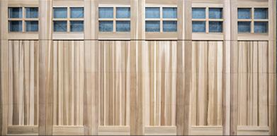 Wood Garage Doors Wooden Overhead Door Paint Grade Garage Doors