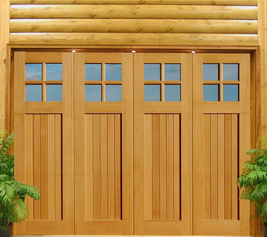 Build wooden garage door diy woodworking for Garage door styles