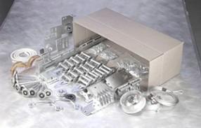 Garage door hardware kit included for 18x7 garage door prices