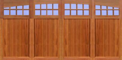 two car garage doorWood Garage Doors  Wooden Overhead Door  Paint Grade Garage Doors