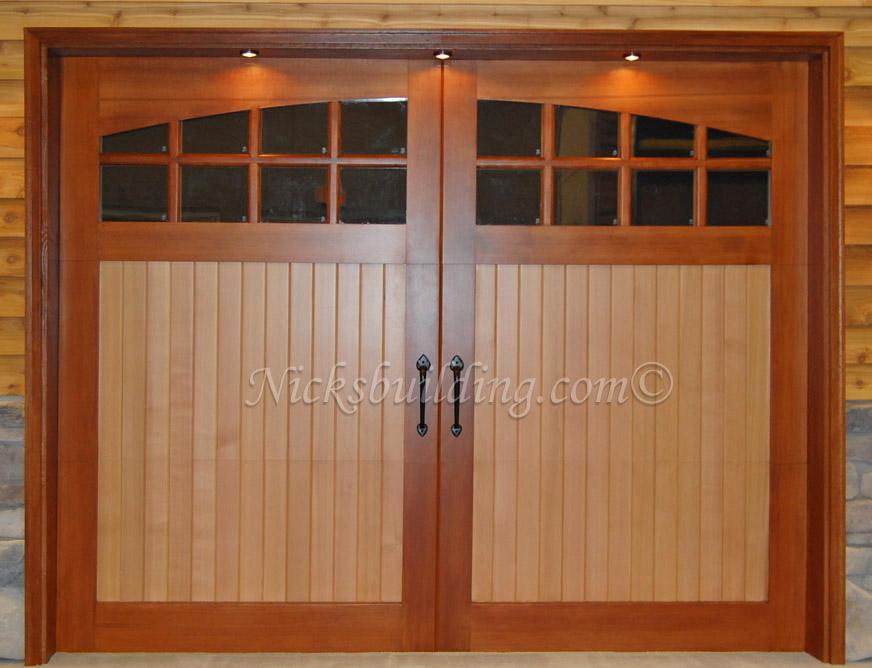 Wood Overhead Garage Doors And Carriage Garage Doors For